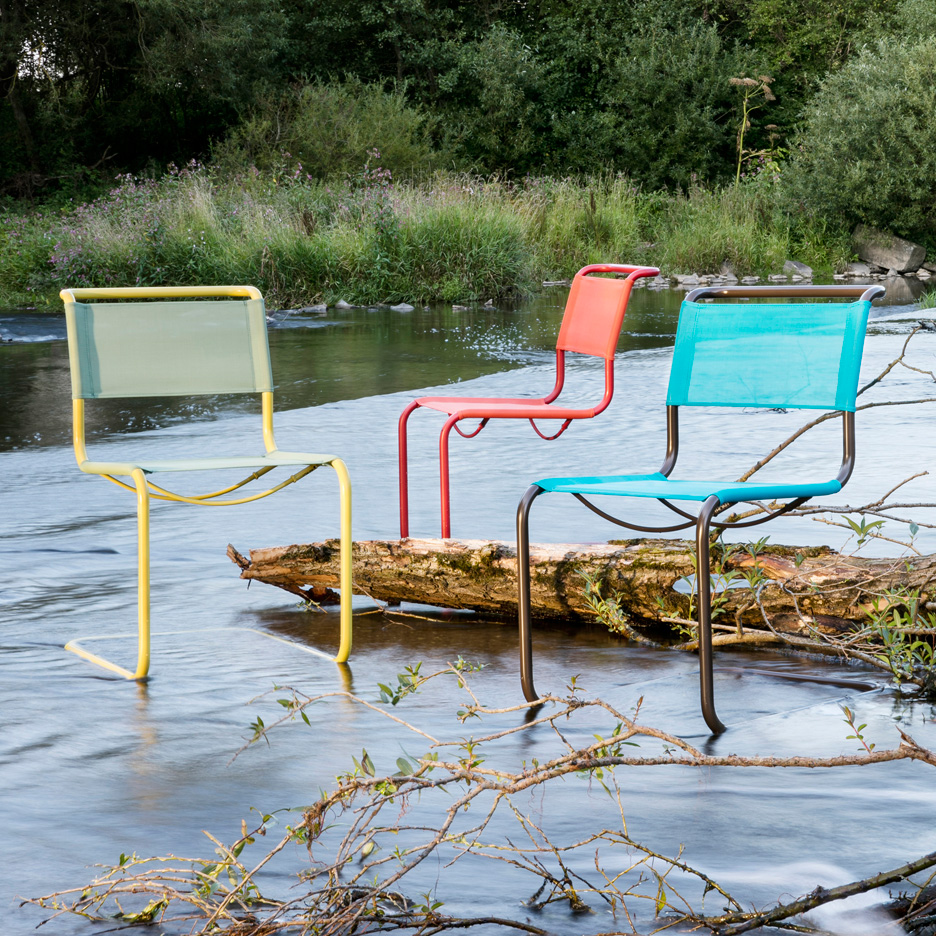 Thonet Jobs Thonet Launches Colorful Outdoor Range Of Classic Chairs