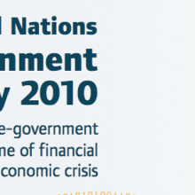 United Nations: E-Government Survey 2010
