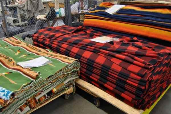 Pendleton Woolen Mills Factory Tour