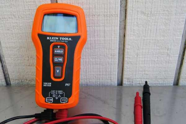 A Durable Multimeter from Klein Tools