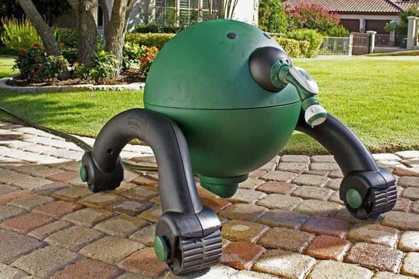 RoboReel the Death Star of Garden Hoses