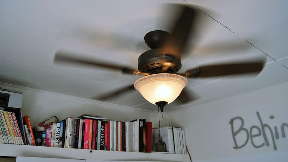 The Five Minute Ceiling Fan from Hunter