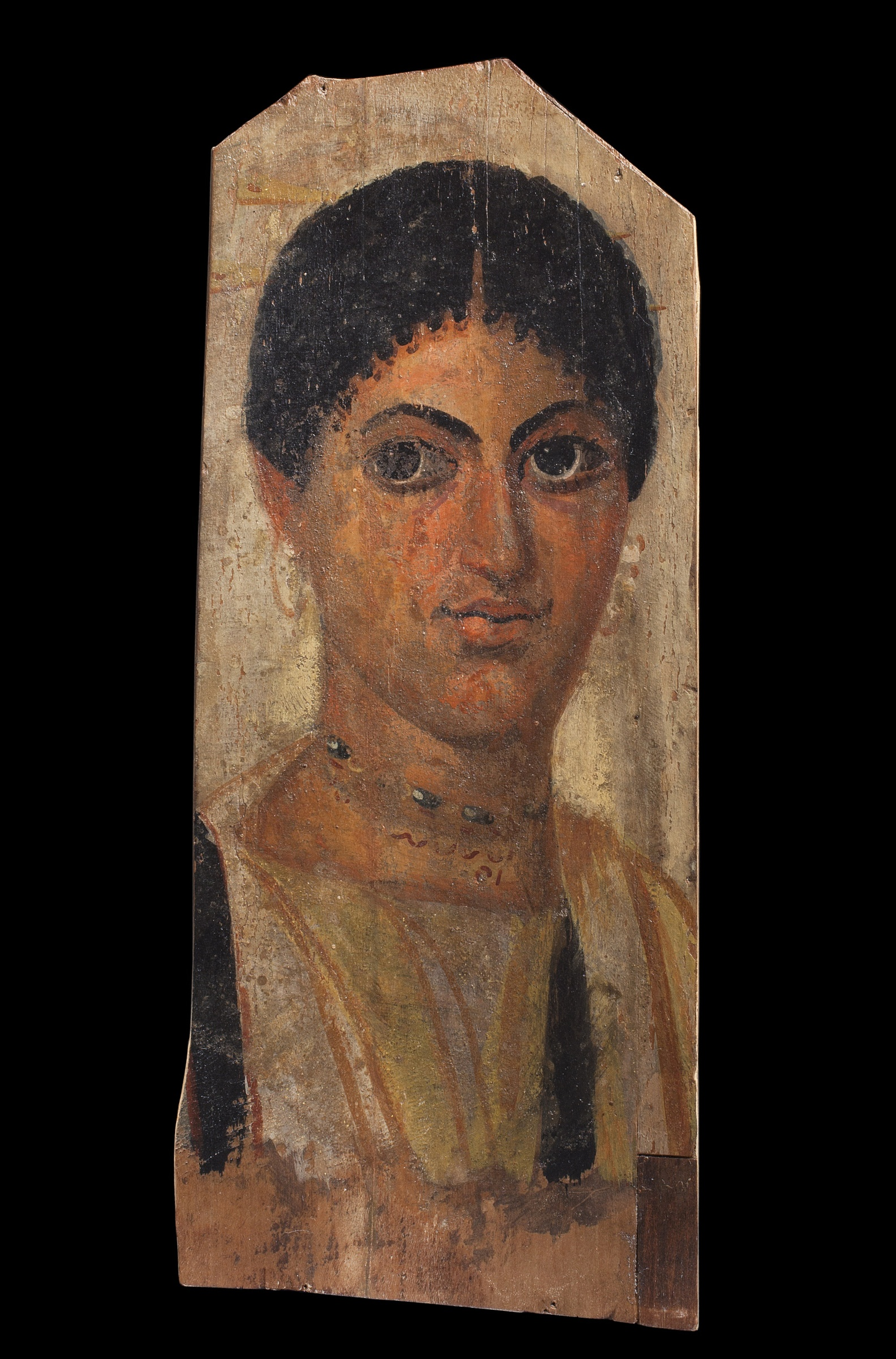 Pittura Romana Fayum An Egyptian Tempera And Encaustic Fayum Panel Portrait Of A Young