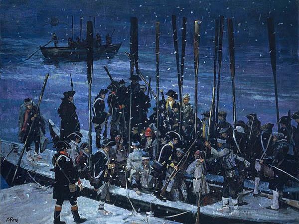 Emmanuel Leutze\u0027s Washington Crossing the Delaware A Cross