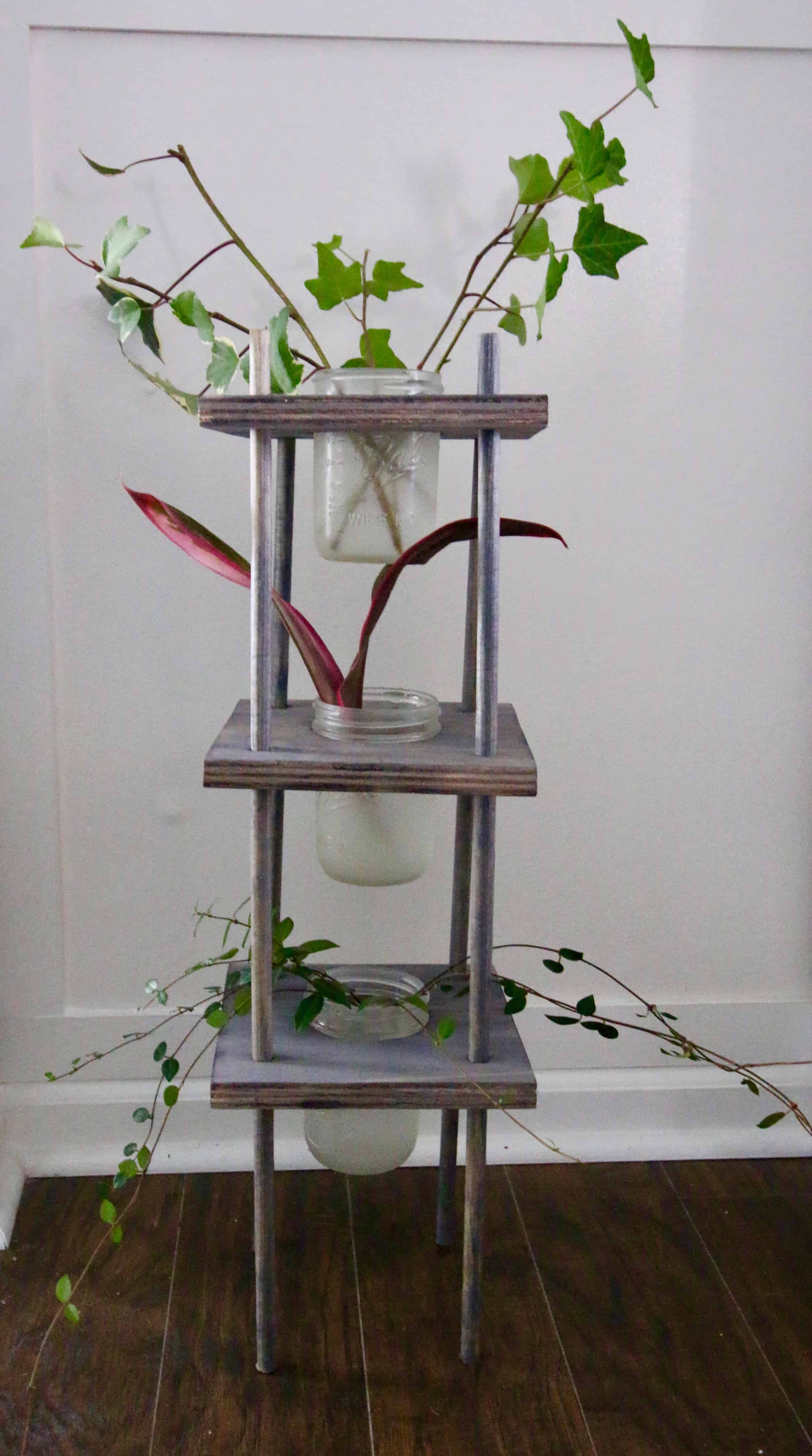 Tiered Plant Holders Three Tiered Propagating Plant Stand