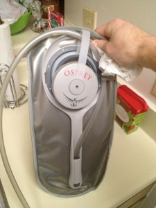 How to dry a Camelbak Pouch - Charleston Crafted