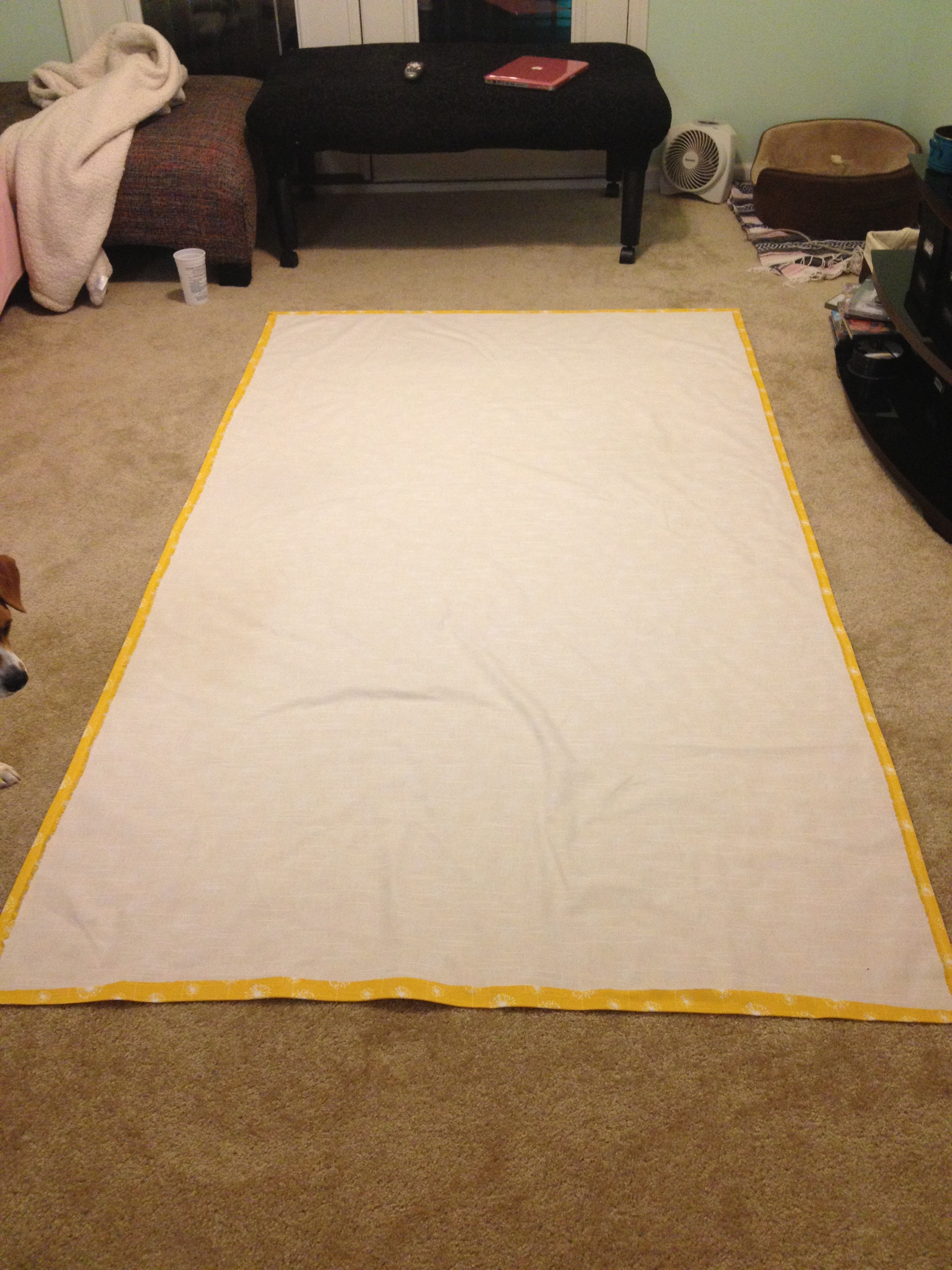 How To Make Lined Curtain Panels How To Make No Sew Black Out Curtains