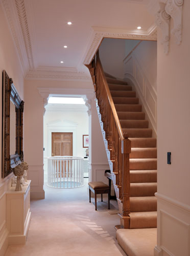 Houzz Home Office Hallways - Charles Yorke