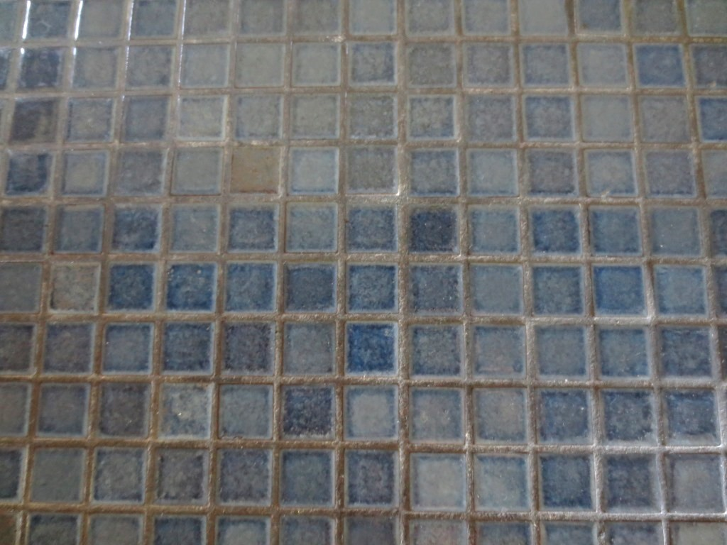 Blue Grey Floor Tiles Inside The Pool House Let 39s Face The Music