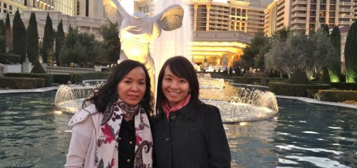 In front of Caesars Palace