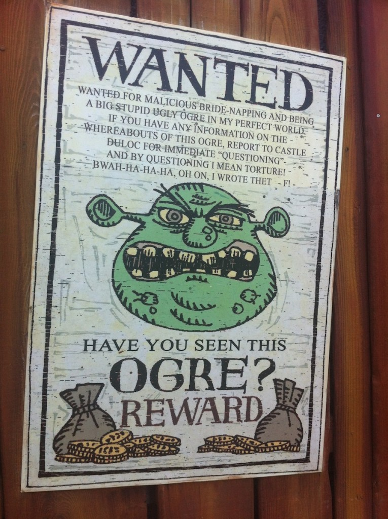 Wanted-Ogre