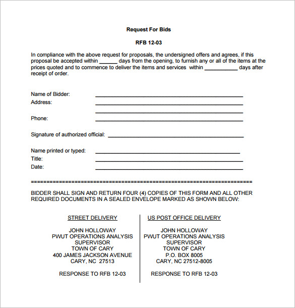Contractor Proposal Template Pdf charlotte clergy coalition - pricing proposal template