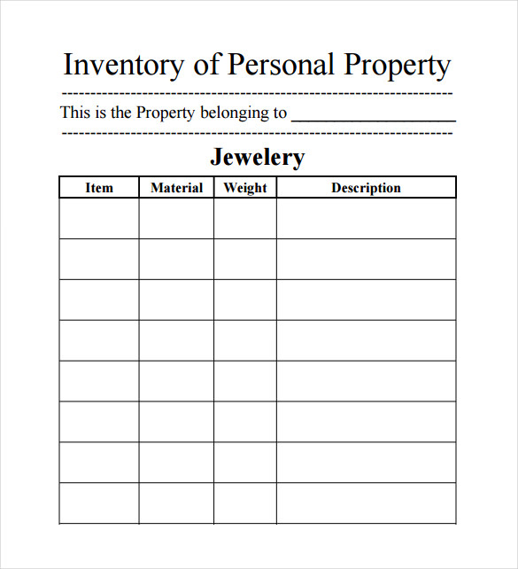 Inventory Spreadsheet Examples charlotte clergy coalition - inventory form template
