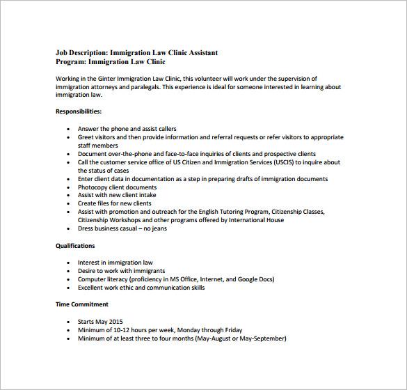job resume template docs
