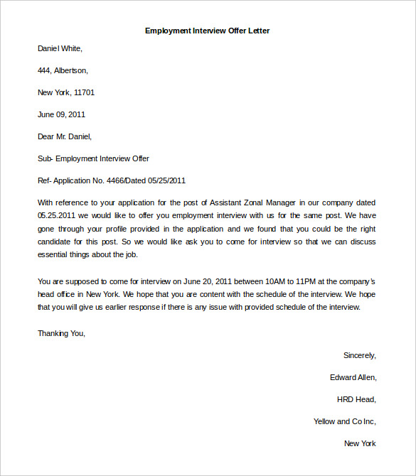 Letter Of Employment Template Word charlotte clergy coalition
