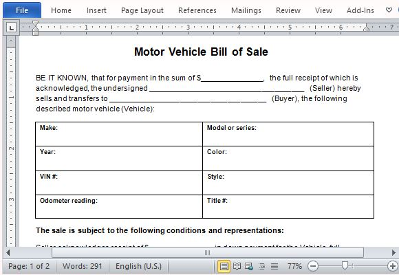 Microsoft Word Bill Of Sale Template charlotte clergy coalition - ms word for sale