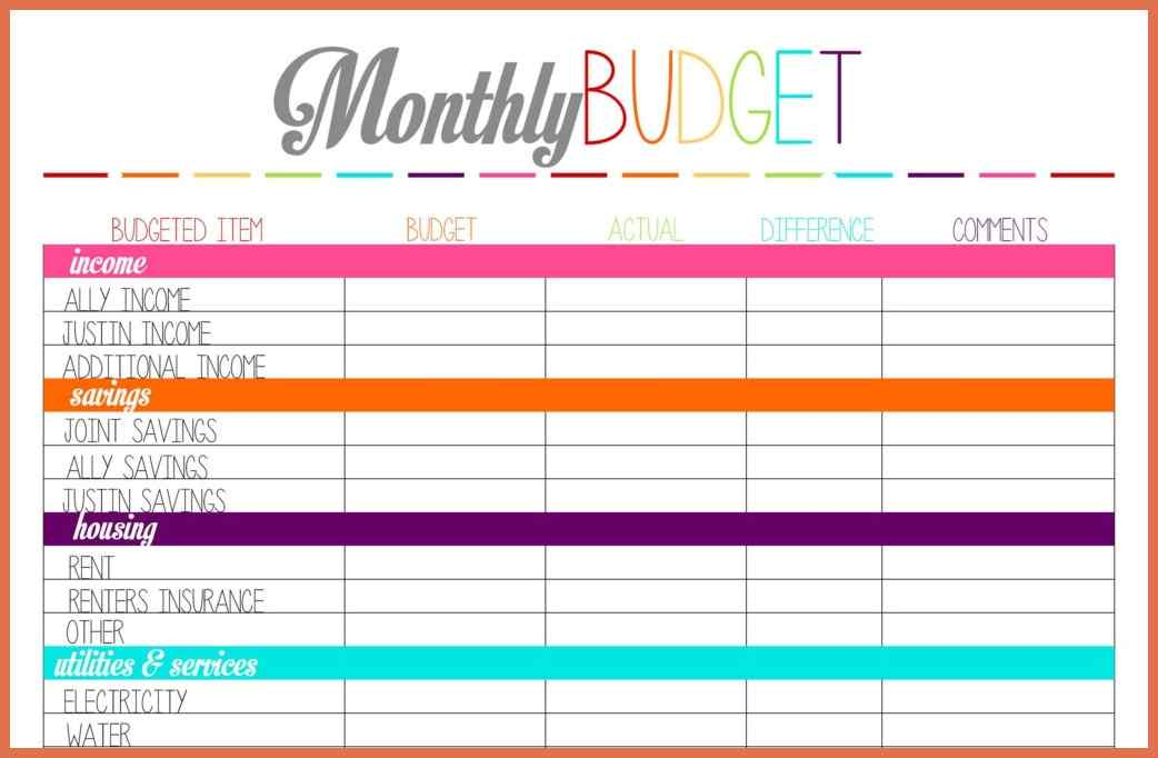 remarkable monthly bill organizer and payment schedule template vatansun