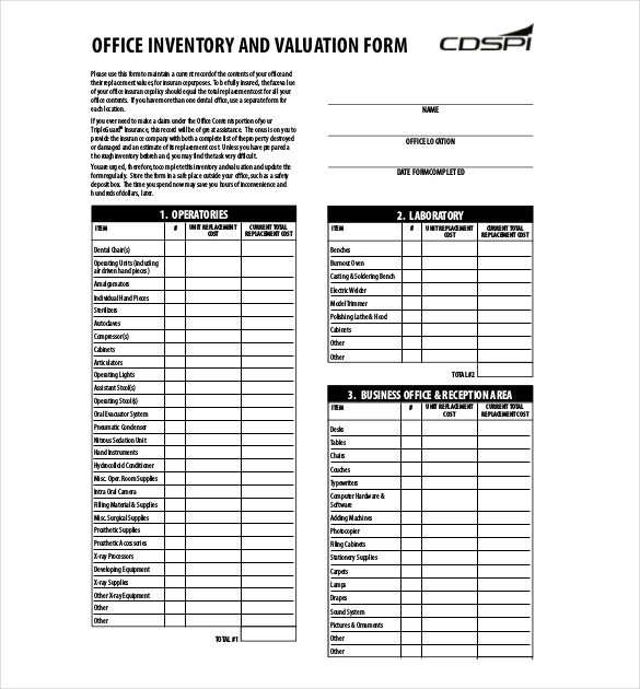 Moving Inventory List Template home moving inventory or packing list