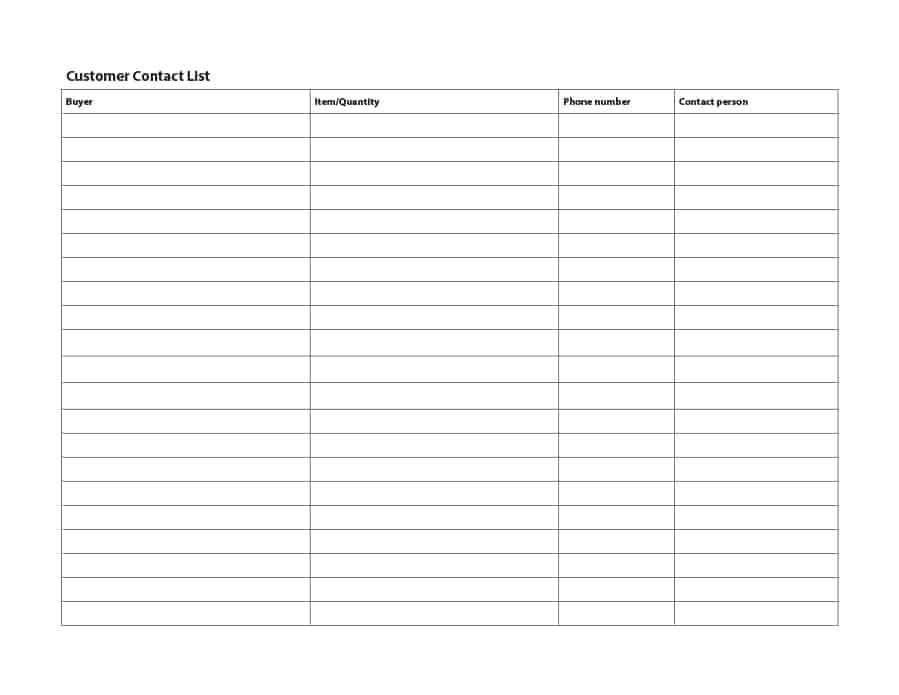 Phone Number List Template charlotte clergy coalition - free editable to do list template