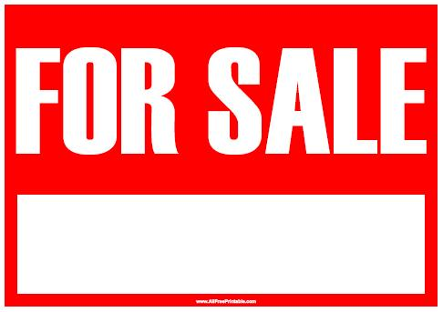 Printable For Sale Sign charlotte clergy coalition