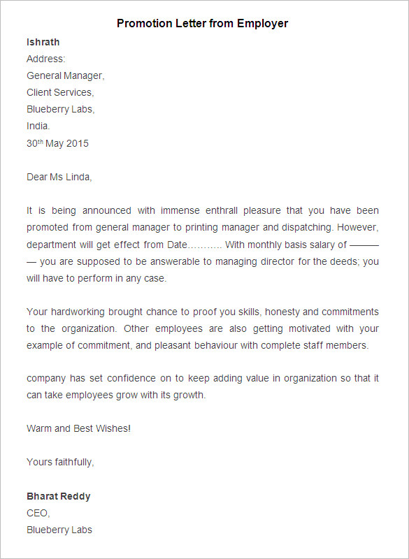 11 job appointment letter templates doc pdf free