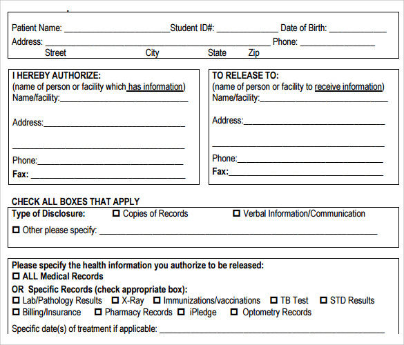 Medical Record Templates charlotte clergy coalition - Patient File Template