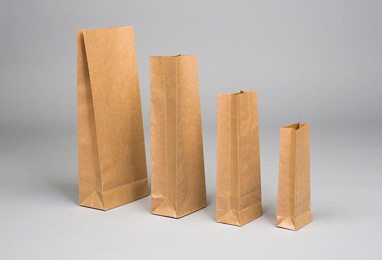 Kraft Paper Block Bottom Bags Charlotte Express Packaging - paper