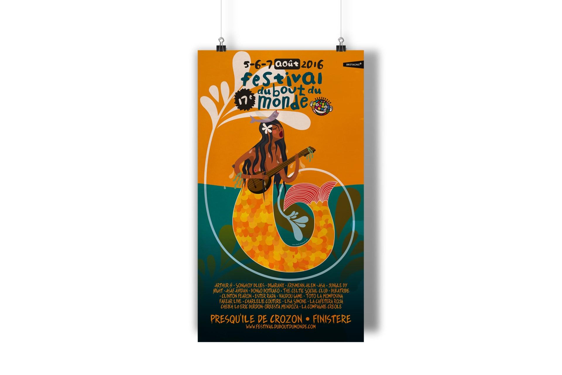 Affiche festival du bout du monde