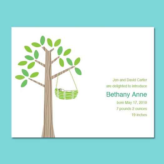 baby announcement cards free template - Ozilalmanoof