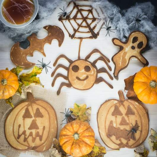Halloween Pancake Art 2