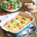 3-Minute Mediterranean Vegetable Lasagne