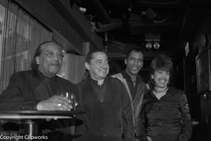 Keith with Mr. Bobby Taylor and Hong Kong Band Members  photo: courtesy K.W.