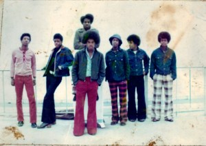 3rd from left Keith Williamson,The Black Truth Band, photo: courtesy K.W.
