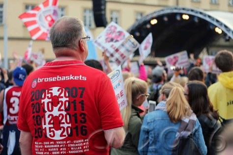 Brose Baskets Deutscher Basketballmeister 2016, autor: charlotte moser