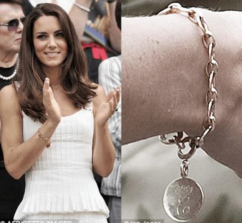 Kate Middletons Royal Charm Bracelet Vintage Charms