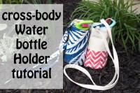 Sewing tutorial - Cross Body Water bottle holder | Charmed ...