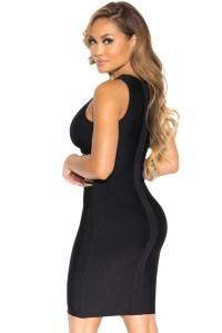 Sexy Little Black Party Bandage Dress   Charming Wear
