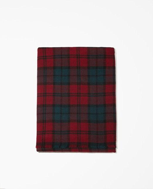 Echarpe laine et cachemire à carreaux The Kooples - Charonbelli's blog mode