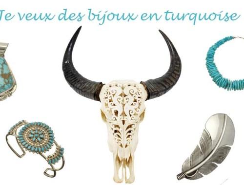 Je veux des bijoux en turquoise - Photo à la Une - Charonbelli's blog mode