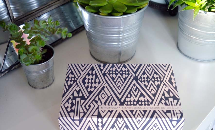 Quand Birchbox s'invite dans le dressing de ba&sh et à la maison - Photo à la Une - Charonbelli's blog mode