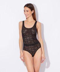 Robyn - Body tout en dentelle Etam - Charonbelli's blog mode