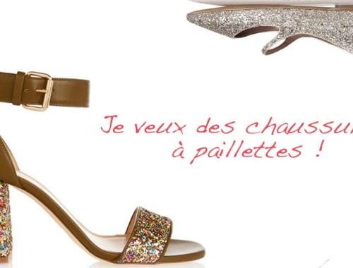 Je veux des chaussures a paillettes - Photo à la Une - Charonbelli's blog mode