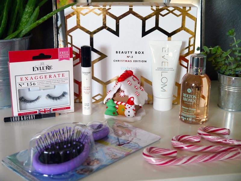 Le récap de ma Lookfantastic box du mois de décembre - Charonbelli's blog beauté