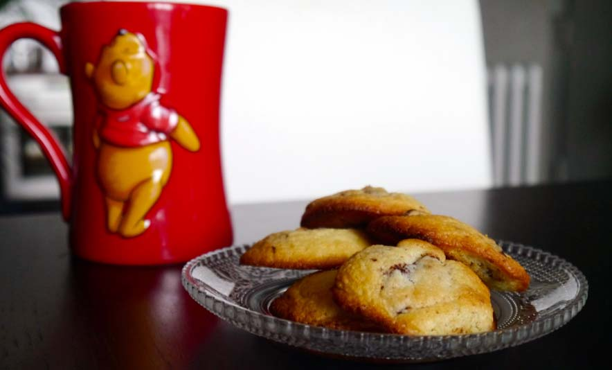 Mes chocolate chip cookies - Photo a la Une - Charonbelli's blog mode