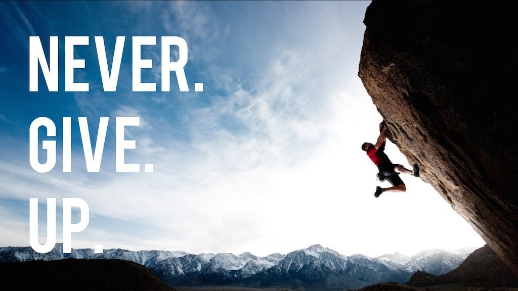 quotes about not giving up 1