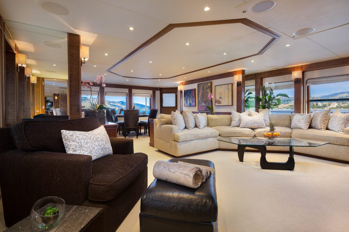 Interio Sofa Utopia Heesen Yachts Image Gallery Bm Stairs Exterior Living Spaces