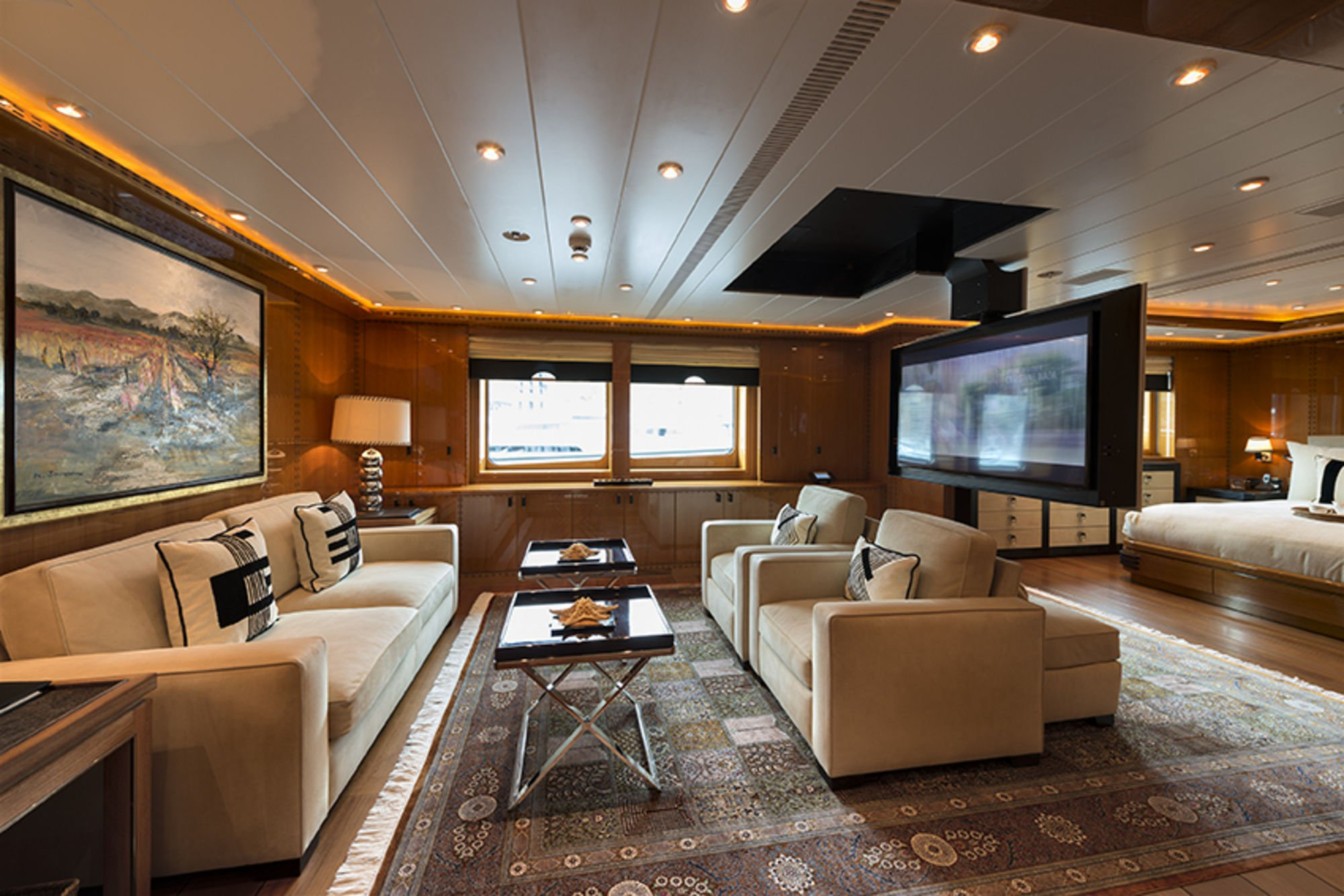 Salon Master Yacht Natita Oceanco Charterworld Luxury Superyacht