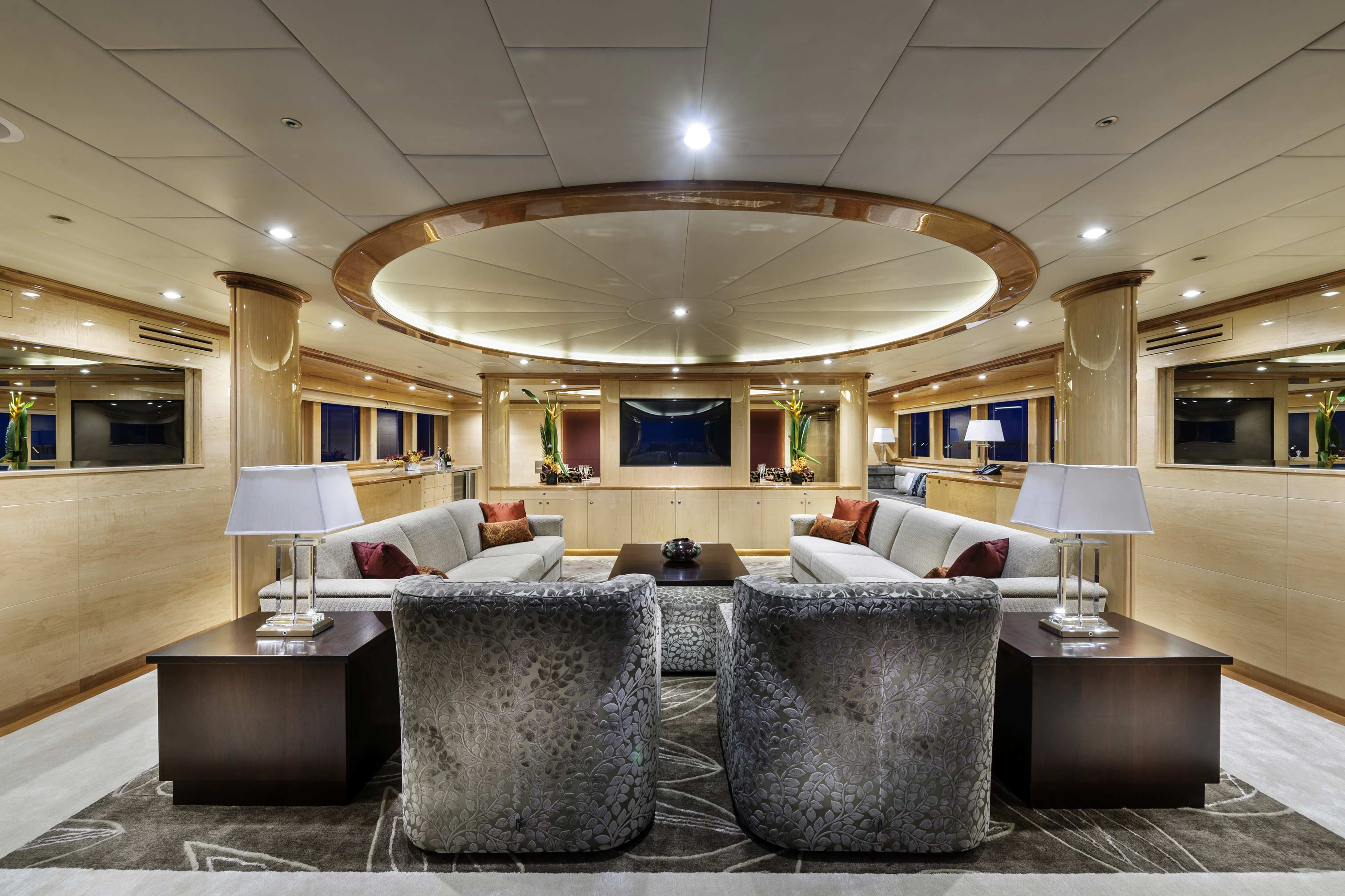 Inside Luxury Yachts Motor Yacht Zenith Interior Yacht Charter And Superyacht