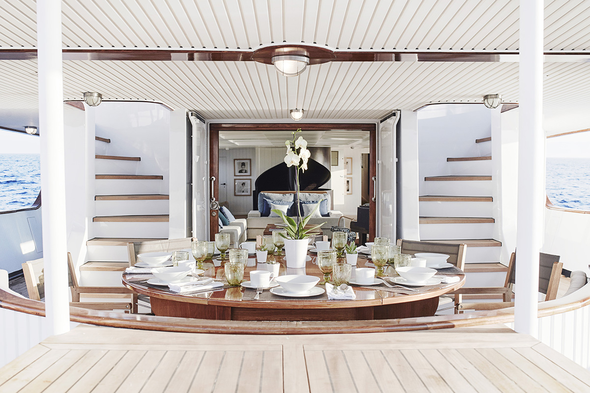 Al Fresco Charter Restored Superyacht Classic Menorca In The