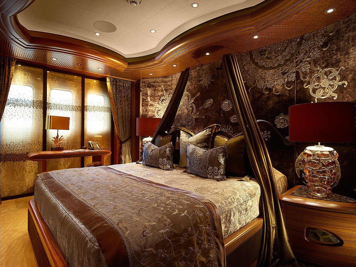 Inside Luxury Yachts Inside Ultra Luxurious Motor Yacht Kismet Yacht Charter